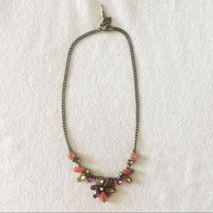Chloe and Isabel Coral Flower Statement Necklace